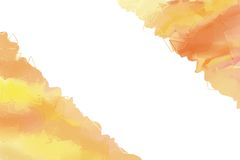 Abstract painted background in orange hues Stock Photos