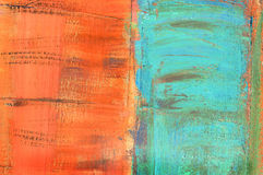 Abstract painted canvas Royalty Free Stock Photos