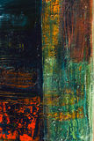 Abstract painted canvas. Oil paints on a palette. Royalty Free Stock Photography