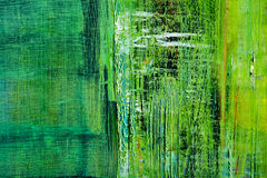 Abstract painted canvas. Oil paints on a palette. Royalty Free Stock Images