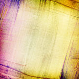 Abstract painted collage background Stock Photo
