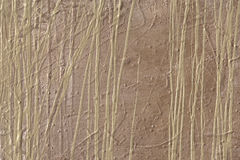 Abstract Painted Forest. Latex paint on wood panel royalty free stock photography