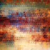 Abstract painted geometric background Stock Image