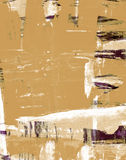 Abstract painted grunge background Stock Photo