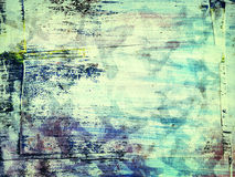 Abstract painted grunge collage background Royalty Free Stock Photo