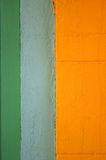 Abstract painted stucco wall Stock Image