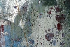 Abstract painted surface Stock Images