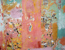 Abstract of painted wall Royalty Free Stock Image