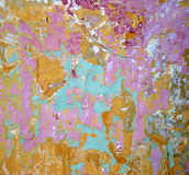 Abstract of painted wall Stock Photo