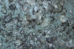 Abstract Painted Wall, Blue And Gray Colors. stock photo