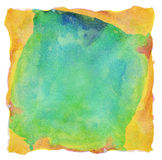 Abstract painted watercolor background Stock Photos