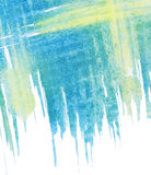 Abstract painted watercolor background Stock Photo