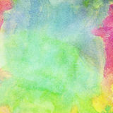 Abstract painted watercolor background. Abstract colorful painted watercolor background Stock Photos