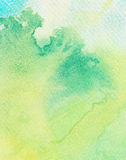 Abstract painted watercolor background Stock Image