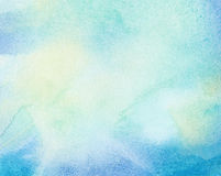 Abstract painted watercolor background Stock Photography