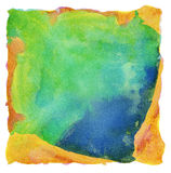 Abstract painted watercolor background. Abstract colorful painted watercolor background Royalty Free Stock Image