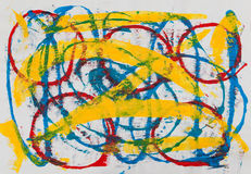 Abstract painting royalty free illustration