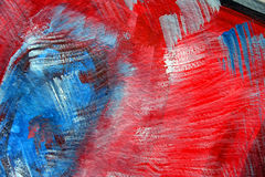 Abstract painting. Photo of my abstract painting stock illustration