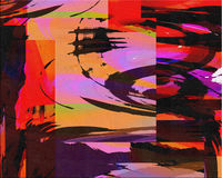 Abstract Painting Royalty Free Stock Images