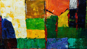 Abstract painting Stock Photography