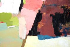 Abstract painting 3 Stock Image