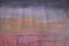 Abstract Painting. Of grey, white, orange and pink tones Stock Image