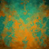 Abstract Painting. Abstract background with autumn colors Royalty Free Stock Photos