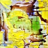 Abstract painting background, acrylic pattern. Vector illustration stock illustration