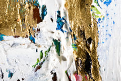 Abstract painting background Stock Photography