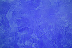 Abstract painting background in blue color Royalty Free Stock Photos