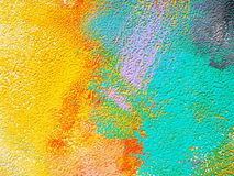 Abstract painting background. Colorful abstract painting on background Royalty Free Stock Images
