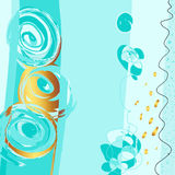 Abstract painting background, digital art Stock Photography