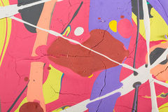 Abstract painting background illustration Royalty Free Stock Photo
