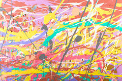 Abstract painting background illustration Stock Photo