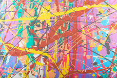 Abstract painting background illustration Stock Images