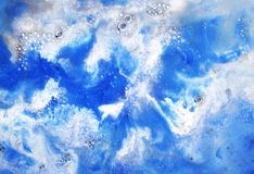 Abstract painting background texture digital effect.  royalty free stock photography