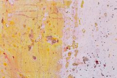 Abstract painting. Brush strokes colorful abstract background. Pink and orange colors. royalty free stock images