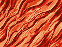 Abstract painting of a burning fire with wild flames Royalty Free Stock Images