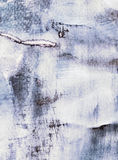 Abstract painting with collage paper texture. Abstract watercolor painting with collage paper texture Stock Photography