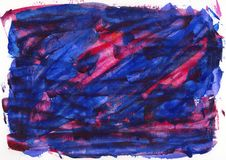 Abstract painting color texture, acrylic color background, knife stock photo