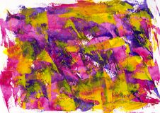 Abstract painting color texture, acrylic color background, knife royalty free stock photo