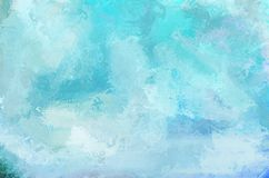 Abstract painting color texture.  Blue sky. Abstract painting color texture. Colorful canvas. Blue sky royalty free stock image