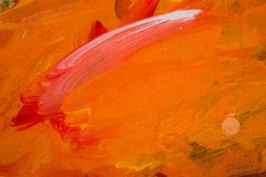 Abstract painting color texture. Modern futuristic pattern. stock image