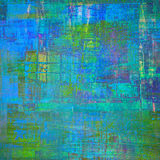 Abstract painting. Abstract cubism art as grunge painting Stock Photography