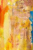 Abstract painting fragment Royalty Free Stock Photography