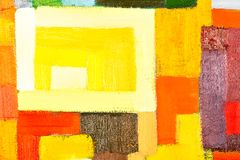 Abstract Painting Fragment Royalty Free Stock Photo