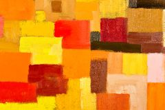 Abstract Painting Fragment Royalty Free Stock Photos