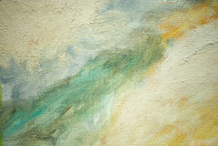 Abstract painting for interior, illustration Stock Image