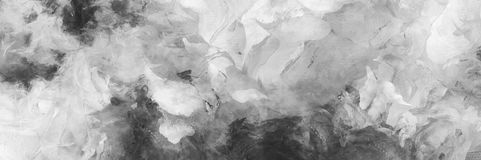 Abstract Painting. Monochrome Abstract Painting. Wide brushstrokes royalty free illustration