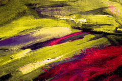 Abstract painting by oil on canvas,  illustration,  background Royalty Free Stock Photo
